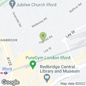 Map of J & L Alarms in Ilford, greater london