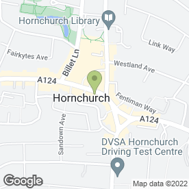 Map of Perfect Smile Spa in Hornchurch, greater london