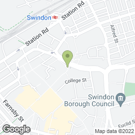 Map of Greggs in Swindon, wiltshire