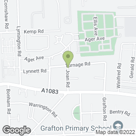 Map of Quick Shop Fitters Ltd in Dagenham, greater london