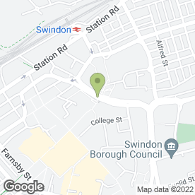 Map of The Cornish Bakehouse in Swindon, wiltshire