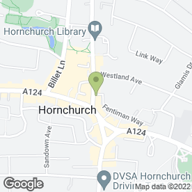 Map of House of Couture in Hornchurch, greater london