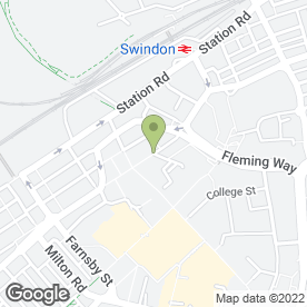 Map of Walkabout in Swindon, wiltshire