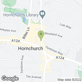 Map of Thai River Restaurant in Hornchurch, greater london