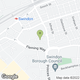 Map of The Whalebridge Practice in Swindon, wiltshire