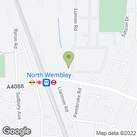 Map of Eco Furniture Ltd in Wembley, middlesex