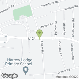 Map of Highland View Dental & Implant Centre in Hornchurch, greater london
