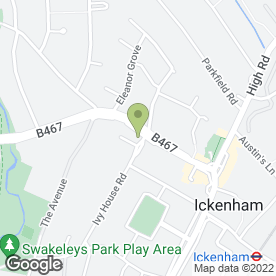 Map of Bikewise in Ickenham, Uxbridge, middlesex