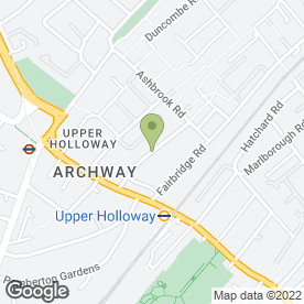 Map of Archway Plumbing & Heating - Boiler Breakdowns in London, london