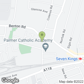 Map of Independent Ecoflow Distributor in Ilford, greater london