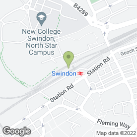 Map of Network Taxis of Swindon in Swindon, wiltshire