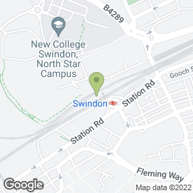 Map of A1 Swindon Taxis in Swindon, wiltshire