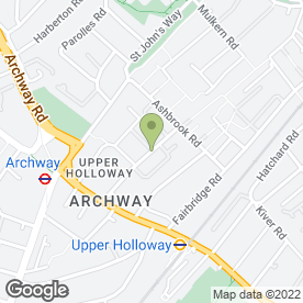 Map of Upper Holloway Heating And Boiler Specialists in London, london