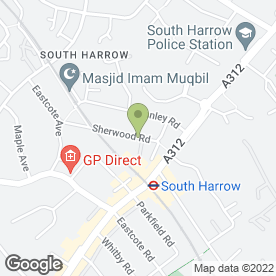 Map of Harrow Heating & Plumbing in Harrow, middlesex