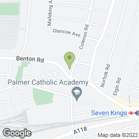 Map of wavepunch.com in Ilford, greater london