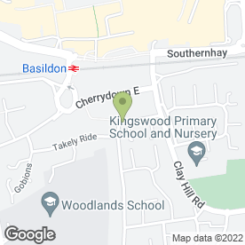 Map of Accurate Builders in Basildon, essex