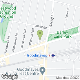 Map of Maytime Montessori Nursery in Ilford, greater london