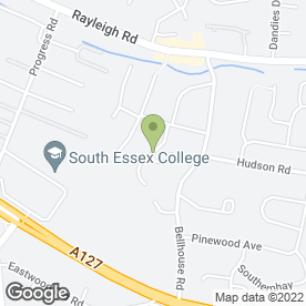 Map of Easy 2 Pass in Leigh-On-Sea, essex