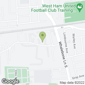 Map of Amazon Cars in Dagenham, greater london