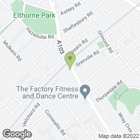 Map of Farnham Joinery in Upper Holloway, London, london