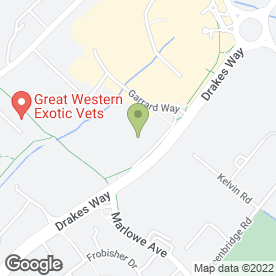 Map of Big Yellow Self Storage Swindon in SWINDON, wiltshire