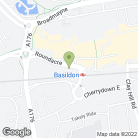 Map of Georgie H Photography in Basildon, essex