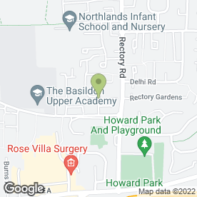 Map of The House Doctor in Pitsea, Basildon, essex
