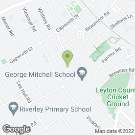 Map of Beaumont Primary in London
