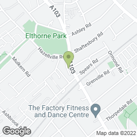 Map of Hornsey Road Sub P.O in London, london