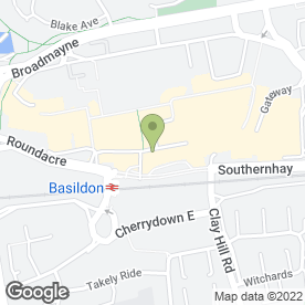 Map of Eon in BASILDON, essex