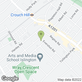 Map of Top Cleaning GB Ltd in Finsbury Park, london