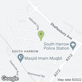 Map of Chequers Disco in HARROW, middlesex