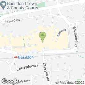 Map of New Look in Basildon, essex