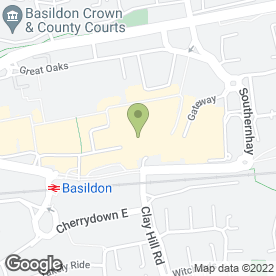 Map of Nosh in Basildon, essex