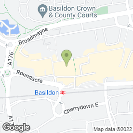 Map of Robins Pie & Mash in Basildon, essex