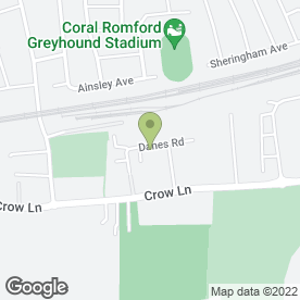 Map of Scenic Self Drive Hire in Romford, greater london