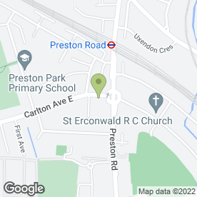 Map of Goddard Veterinary Group in Wembley, middlesex