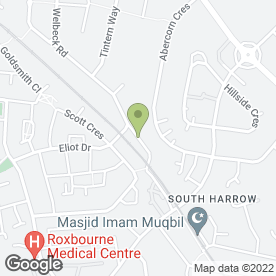 Map of P & D Scaffolding Ltd in Harrow, middlesex