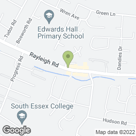 Map of EASTWOOD FLOORING SUPPLIES in Leigh-On-Sea, essex