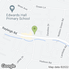 Map of Hasina Tandoori Restaurant in Leigh-On-Sea, essex