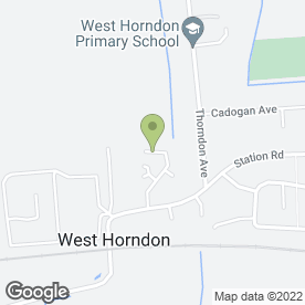 Map of DAVENPORT SERVICES in West Horndon, Brentwood, essex