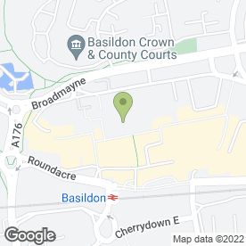 Map of Marks & Spencer plc in Basildon, essex