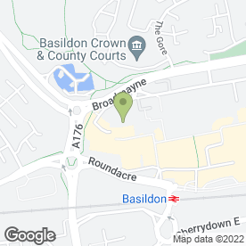 Map of Citizens Advice Bureau in Basildon, essex