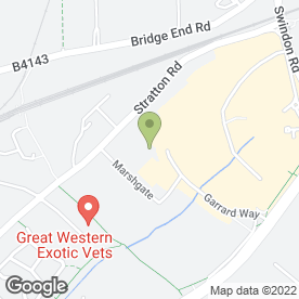 Map of In House Catering in Swindon, wiltshire