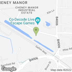 Map of Nuimage Kitchens, Bathrooms & Bedrooms in 109 Cheney Manor Industrial Estate, SWINDON, wiltshire