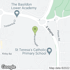 Map of Devine 2 Balloons in Basildon, essex