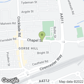 Map of Golden Dragon Taekwon-do School in Swindon, wiltshire