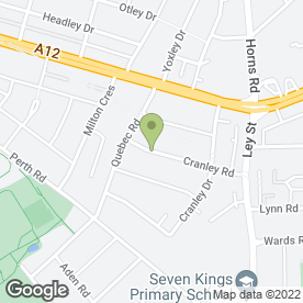 Map of Redbridge Stroke Club in Ilford, greater london