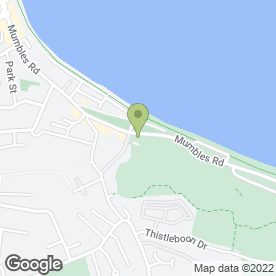 Map of El Faro in Mumbles, Swansea, west glamorgan