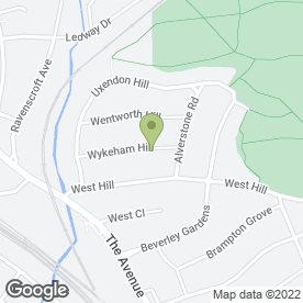 Map of Andy's Installation in Wembley, middlesex
